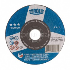 DISCO C H METAL/INOX TYROLIT PREMIUM 115X1 MM