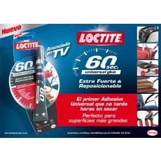 PEGAMENTO INSTANT 60 SEGUND 2H LOCTITE 20 G