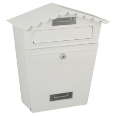 BUZON EXTERIOR ACERO BLANCO PROFER HOME 33X13X35CM