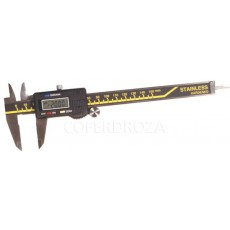 CALIBRE INOX DIGITAL C/ESTUCHE BRICODY 150 MM