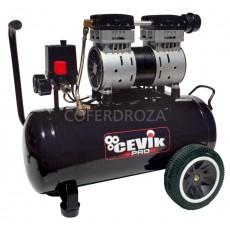 COMPRESOR SILENCIO 1,5HP S/ACE CEVIK 24 L