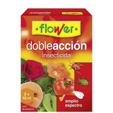 INSECTICIDA ACARICIDA D ACCION FLOWER 2X15 ML